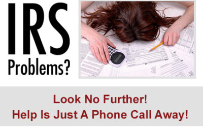 SOLVE YOUR IRS TAX PROBLEMS TODAY